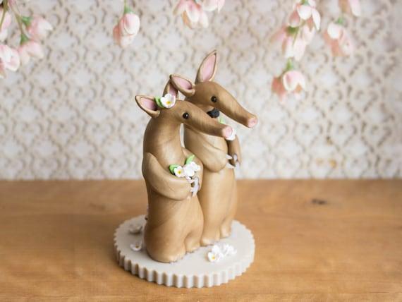 Aardvark Wedding Cake Toppe