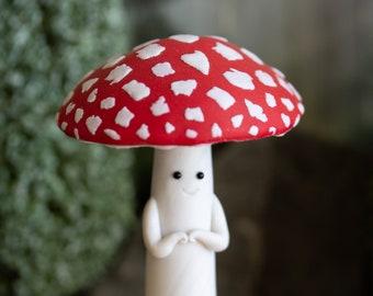 Mushroom Person - Amanita Muscaria - Fly Agaric Friend
