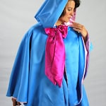 Fairy Godmother Costume Cape, Waist Length,