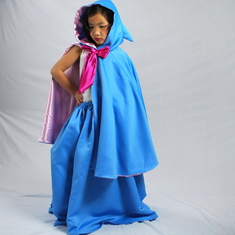 Fairy Godmother Skirt and Cape Child Size 2-12 image 0