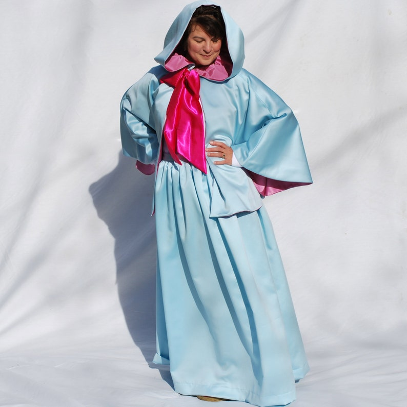 Fairy Godmother Costume Set Skirt and 24 Cape image 0