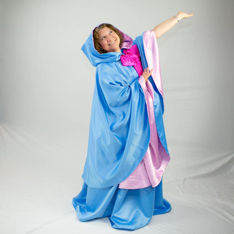 Fairy Godmother Costume Cape and Skirt image 0