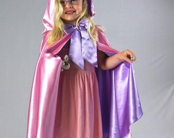 Pink Cape, Lilac Princess READY TO SHIP