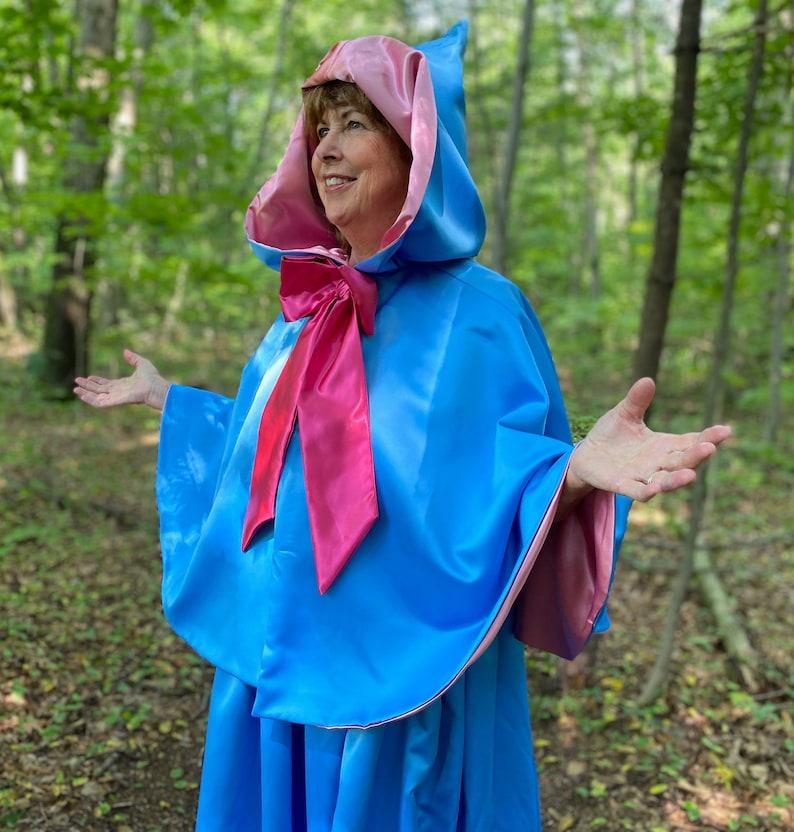Fairy Godmother Costume 24 Waist Length Cape and Skirt image 0