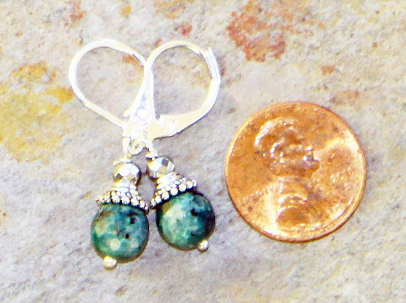 Handmade Jewelry Set Bohemian Jewelry Set Blue Jewelry Set Blue Agate Jewelry Set Tree of Life Jewelry Set Natural Stone Jewelry Set