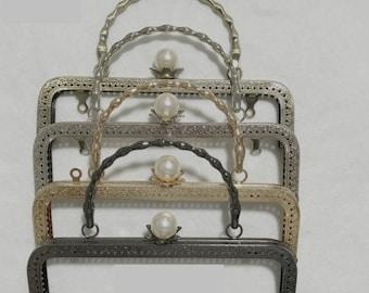 Purse Bag Handbag Making Supply Frame Handle By