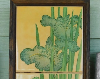 Iris Flower tile by Kimberly Enterprise