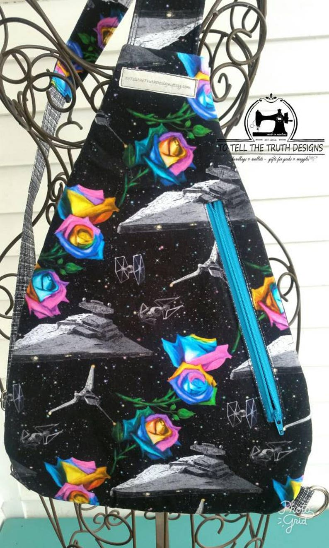 Birthday Gift Sling Bag Backpack Purse Sling Backpack Fandom Gifts Backpack Hiking Backpack Nerdy Hiking Pack Day Trip Bag