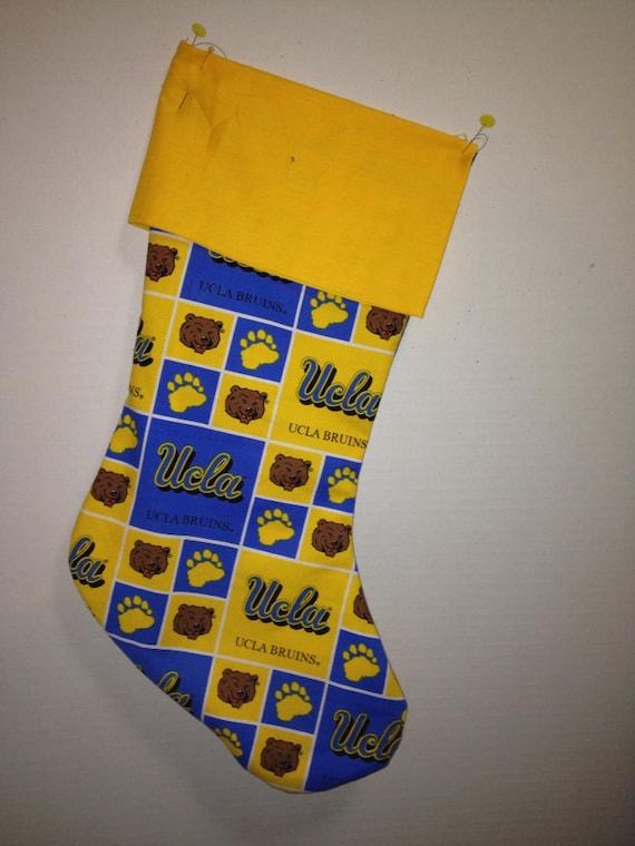 NEW Personalized UCLA Bruins University of Los Angeles Christmas Stocking