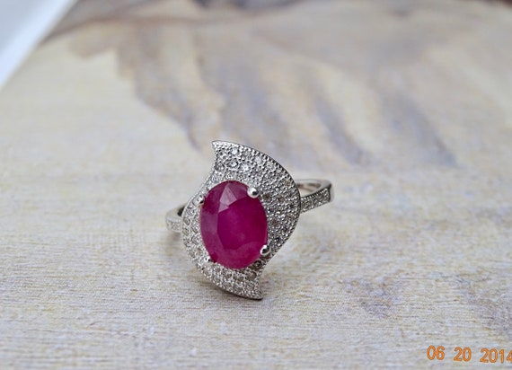 LAST CALL Sale Signet Ring Engagement Ring Sterli… - image 5