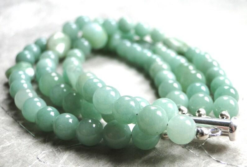 SALE Half Price Bangle Gemstone Bracelet Jewelry Three Strand Gemstone Bracelet Bangle Handmade Bracelet One of a Kin