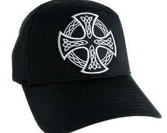90d995a6ccb Celtic Iron Cross Hat Baseball Cap Alternative Clothing Sons of Anarchy  Biker - DYS-EPP1388-CAP