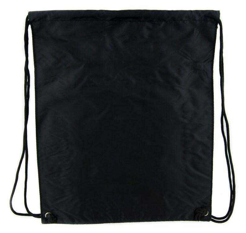 Crux Satanus Leviathan Cinch Bag Drawstring Backpack Occult Black Sulphur DYS-HTV-002-CINBG