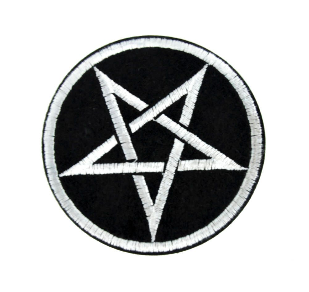 Gate Of The Necronomicon Alchemy Symbol Patch Iron On Applique And Occult Clothing