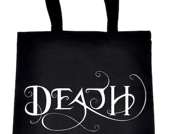 Death Being the End Tote Book Bag Sandman Handbag Gothic - TB-2016049