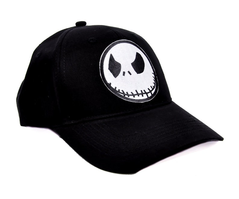 80611b2dcee25 Jack Skellington Face Nightmare Before Christmas Baseball Cap