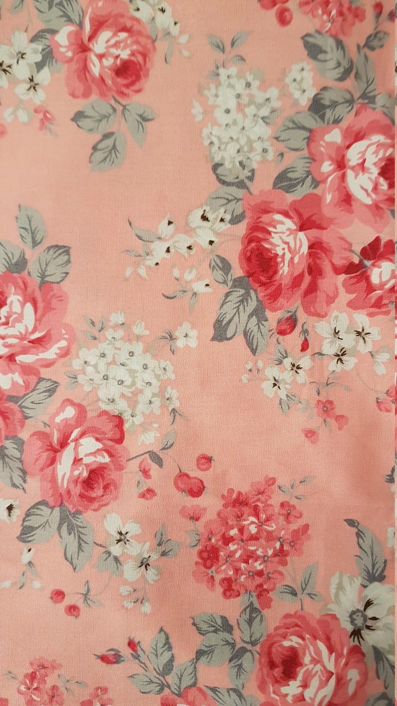 Shabby Chic Bandana Pink with beautiful roses bandanas sizes available xs -  large