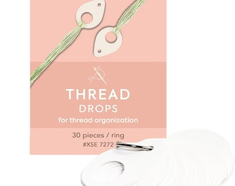 Thread Drops, Thread Holders, Floss Organizers, Thread Organizers, Floss Holders, Cross Stitch Organizer, Floss Holder