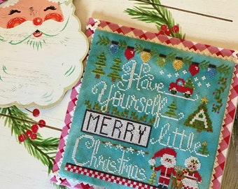 PRE-Order, Counted Cross Stitch Pattern, A Merry Little Christmas, Christmas Decor, Ornaments, Stitching with the Housewives, PATTERN ONLY