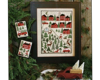 Counted Cross Stitch, Christmas Tree Farm, Cross Stitch Patterns, Christmas Decor, Christmas Ornaments, The Prairie Schooler,  PATTERN ONLY