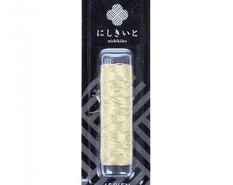 Cosmo, Cosmo Nishikiito, Gold Metallic Floss, Metallic Embroidery Floss, 77-E21, Embroidery Floss, Metallic Thread, Cross Stitch Floss