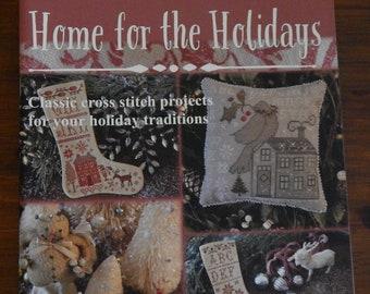 Softcover Book, Home for the Holidays, Christmas Decor, French Country, Primitive Decor, Rustic Decor, Home Decor, Blackbird Designs