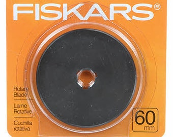 Fiskars, Rotary Blade, Chenille Maker Blade, 60mm Rotary Cutter Blade, Quilt Blade, Fabric Cutting Blade, Replacement Blade, Quilters Tool