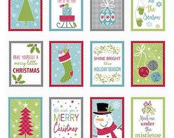 Quilt Fabric, Joy, Merry and Bright, Multi, Christmas Fabric, Holiday, Benartex, Contempo, Cherry Blossom Quilting, Cherry Guidry
