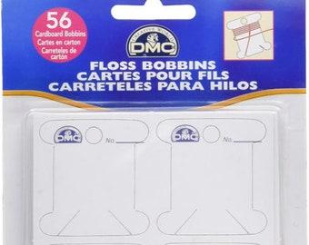 DMC Cardboard Floss Bobbins, Floss Bobbins, Thread Holder, Floss Holder, Bobbins, Thread Bobbins, DMC, Organizer, Floss Holder