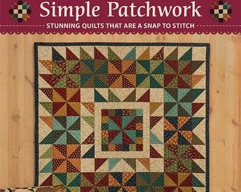 Quilt Book, Simple Patchwork, Scrap Quilt, Primitive Decor, Rustic Decor, Home Decor, Quilt Patterns, Fall Quilts, Softcover Book, Kim Diehl