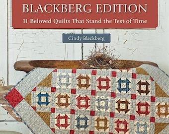 Softcover Book, Blackberg Edition, Quilt Patterns, Churn Dash, Lemoyne Star, Railroad Crossing, Basket Quilt, Star Quilt, Cindy Blackberg