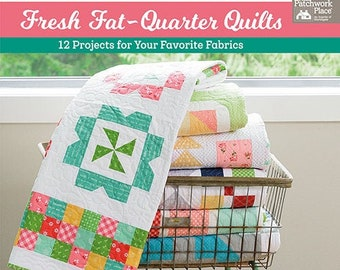 Softcover Book, Fresh Fat-Quarter Quilts, Quilt Patterns, Fat Quarter Quilts, Stars Quilts, Pinwheel Quilts, Star Quilts, Andy Knowlton