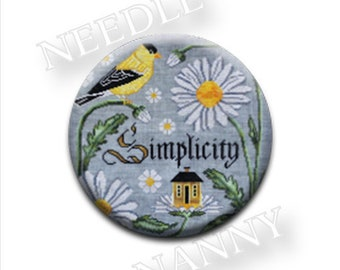 Needle Minder, Cottage Garden, There is Beauty in Simplicity, Needle Nannies, Rare Earth Magnet, Zappy Dots, Needle Nanny, Needle Holder