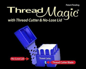 Thread Magic Cube, Thread Conditioner, Thread Strengthener, Hypoallergenic, Thread Magic Conditioner, Silk Conditioner, Made in the USA