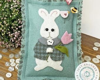 Pin Lovers, Tulip for You, Bunny Pin Mini, Bumble Bee Pin, Bird Pin, Tulip Pin, April Pincushion, Just Another Button Company