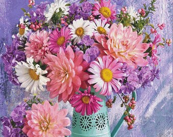 Counted Cross Stitch Pattern, Vibrant Bouquets, Floral Bouquet, Flowers, Country Cottage, Cottage Chic, Cross Stitch Studio, PATTERN ONLY