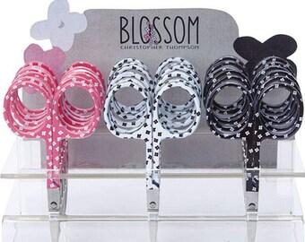 "Embroidery Scissors, Blossom Scissors, 3.75"" Scissors, Heirloom Embroidery Scissors, Needlework, Christopher Thompson, The Tattooed Quilter"