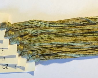 Classic Colorworks, Lemon Grass, CCT-230, 5 YARD Skein, Hand Dyed Cotton, Embroidery Floss, Counted Cross Stitch, Embroidery Thread