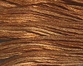 Weeks Dye Works, Chickpea, WDW-1229, 5 YARD Skein, Hand Dyed Cotton, Embroidery Floss, Counted Cross Stitch, Embroidery, PunchNeedle