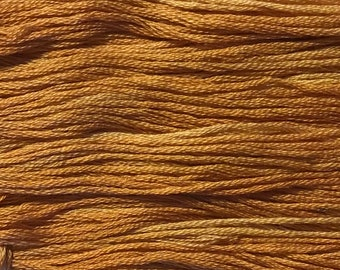 Classic Colorworks, Glazed Carrots, CCT-233, 5 YARD Skein, Hand Dyed Cotton, Embroidery Floss, Counted Cross Stitch, Embroidery Thread