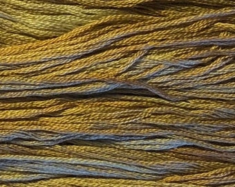 Gentle Art, Simply Shaker Threads, Portabella, #7076, 10 YARD Skein, Embroidery Floss, Counted Cross Stitch, Hand Embroidery Thread