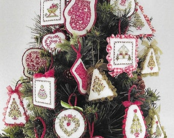 Counted Cross Stitch Pattern, Christmas Ornaments Collection II, Christmas Tree Ornaments, Christmas Ornament, JBW Designs, PATTERN Only