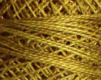 Valdani 3 Strand, O153, Golden Moss, Punch Needle, Embroidery, Penny Rugs, Wool Applique, Cross Stitch, Tatting, Embroidery Thread