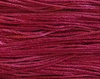 Weeks Dye Works, Begonia, WDW-2263, 5 YARD Skein, Hand Dyed Cotton, Embroidery Floss, Counted Cross Stitch, Embroidery, PunchNeedle