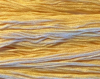 Gentle Art, Simply Shaker Threads, Apricot Blush, #0620, 10 YARD Skein, Embroidery Floss, Counted Cross Stitch, Hand Embroidery Thread