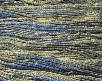 Gentle Art, Simply Shaker Threads, Liberty, #7038, 10 YARD Skein, Embroidery Floss, Counted Cross Stitch, Hand Embroidery Thread