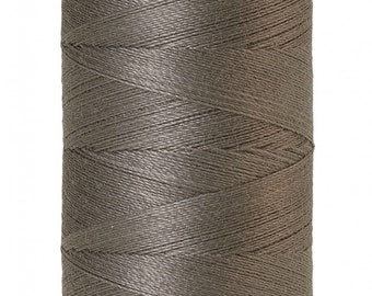 Mettler Thread, Old Tin, #0415 60wt, Solid Cotton, Silk Finish Cotton, Embroidery Thread, Sewing Thread, Quilting Thread, Sewing Thread