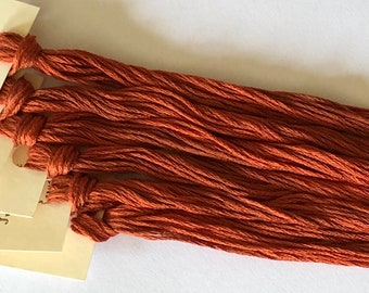 Classic Colorworks, Just Rust, CCT-144, 5 YARD Skein, Hand Dyed Cotton, Embroidery Floss, Counted Cross Stitch, Embroidery Thread