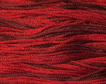 Classic Colorworks, Cupid, CCT-012, 5 YARD Skein, Hand Dyed Cotton, Embroidery Floss, Counted Cross Stitch, Hand Embroidery Thread