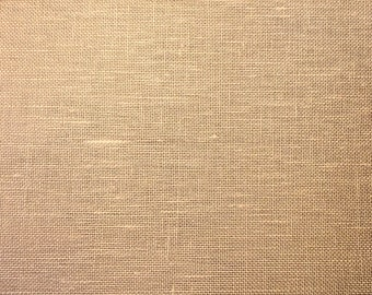 28 Count Linen, Beautiful Beige, Evenweave Linen, Cross Stitch Fabric, Evenweave Fabric, Needlework, Cross Stitch Linen